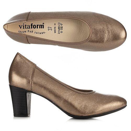 VITAFORM Pumps Vitaform Stretch Schimmernd Absatz ca. 5,5cm