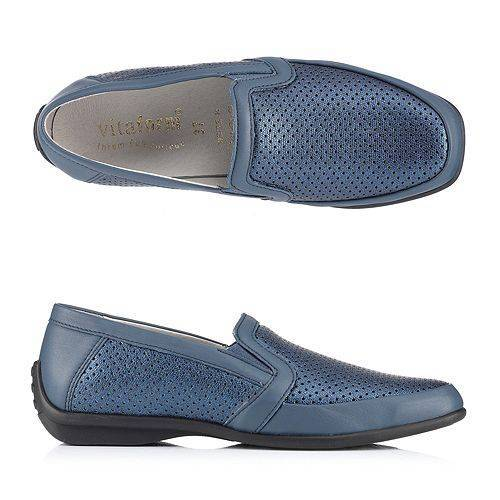 VITAFORM Damen-Slipper Vitaform Stretch Nappaleder Luftpolsterfußbett