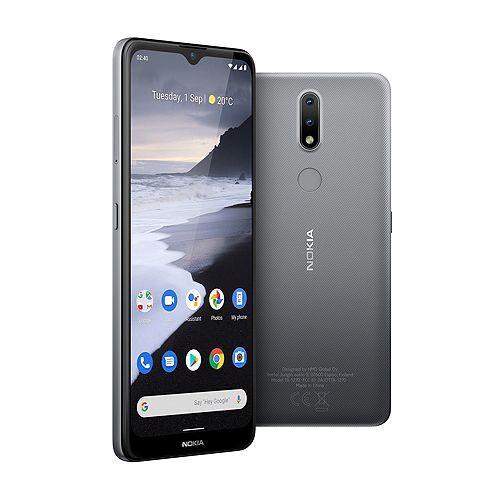 Nokia 2.4 16,51cm Smartphone 32GB, 2GB RAM, HD+ Octa Core, Dual SIM Fingerabdrucksensor