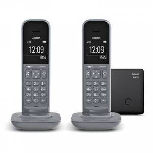 Siemens GIGASET DECT-Telefon-Duo Freisprechfunktion Anrufbeantworter Made in Germany