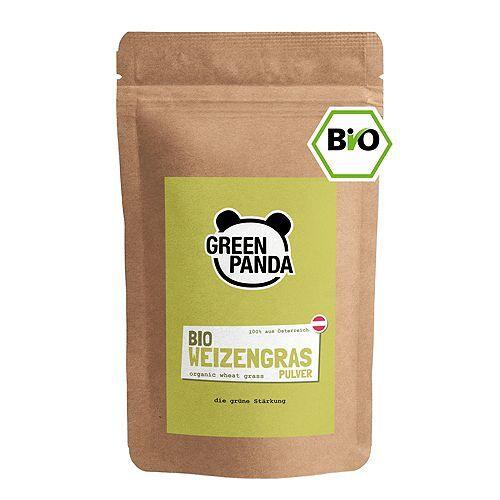 Panda GREEN PANDA Bio-Weizengras Pulver ohne Zusatzstoffe 500g
