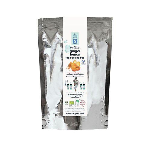 shuyao Bio coldbrew Ginger Lemon Tee 300g im Refill für ca 100 Tagesportionen