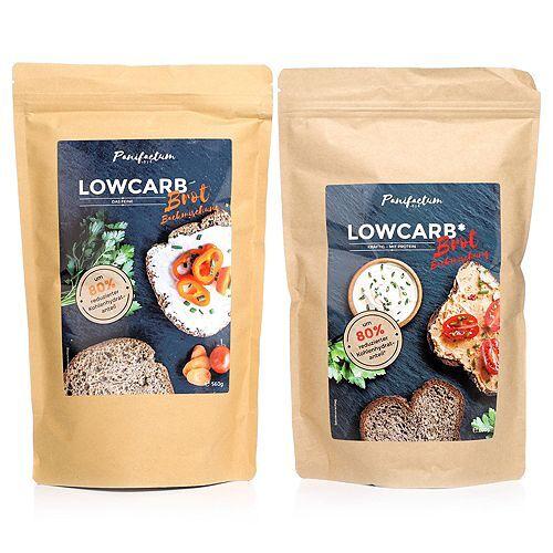 PANIFACTUM Low Carb Brotbackmischung 2 Sorten, 5 Brote Inhalt 1.160g