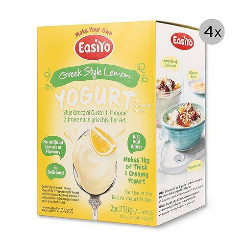 EASIYO Joghurtpulver 8 Beutel für 8kg Joghurt griech. Art Frucht