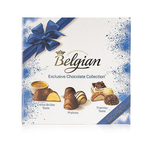 THE BELGIAN Dessert Pralinés 3 Sorten Inhalt 800g