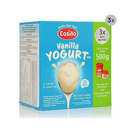 EASIYO Joghurtpulver 9 Beutel für 4,5kg Joghurt