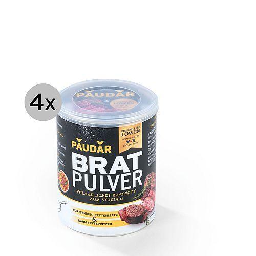 PAUDAR Bratpulver pflanzliches Bratfett in Pulverform 4x 125g