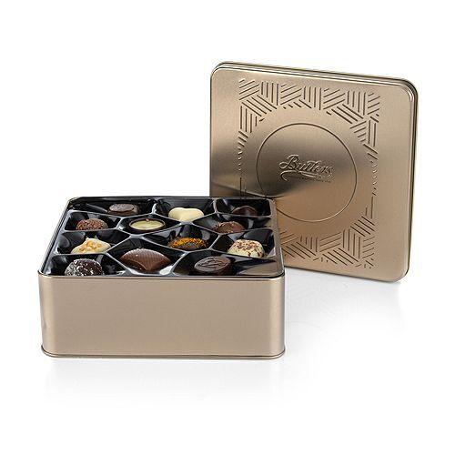 BUTLERS CHOCOLATE Pralinenmischung in Geschenkdose 12 Sorten Inhalt 350g