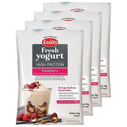 EASIYO Joghurtpulver 4 Beutel für 4kg Joghurt Protein