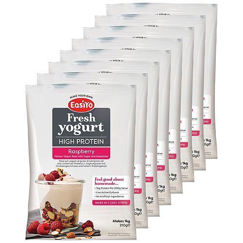 EASIYO Joghurtpulver 8 Beutel für 8kg Joghurt Protein
