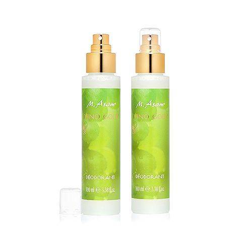 M.ASAM® Vino Gold® Deodorant ohne Aluminiumsalze 2x 100ml