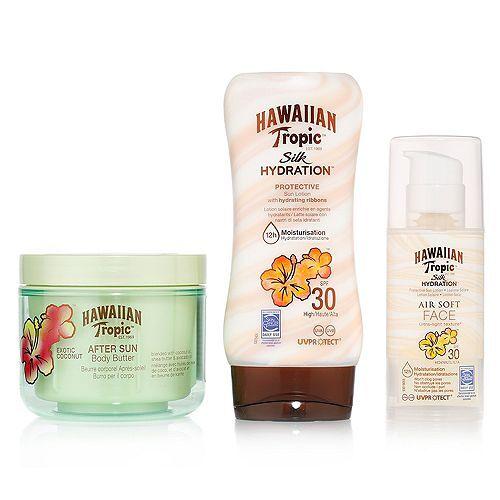 HAWAIIAN TROPIC™ Sonnencreme & -lotion, LSF 30, Body Butter 3tlg.