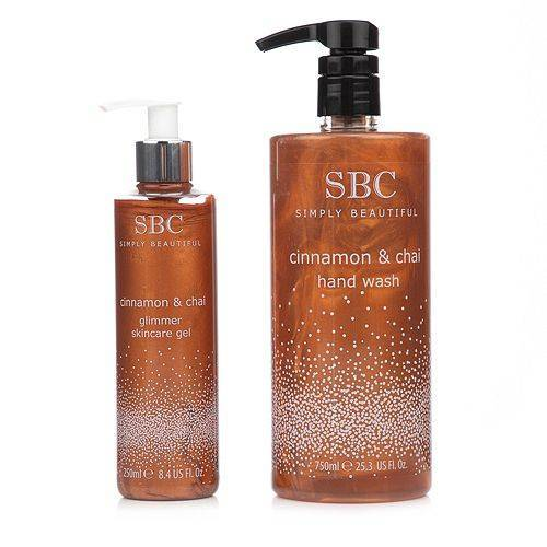 SBC Zimt & Chai Skincare Gel 250ml & Handseife 750ml