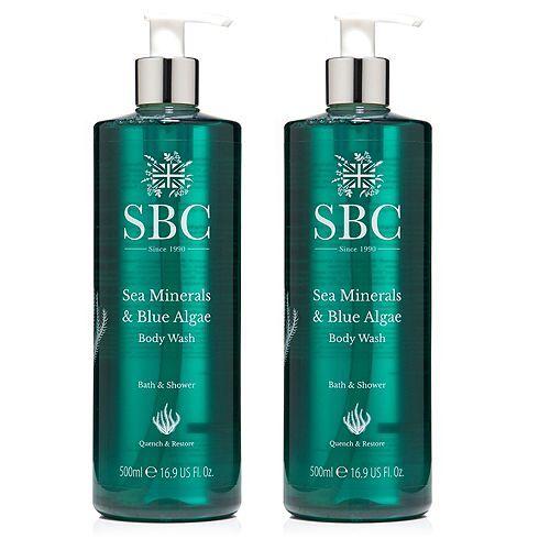 SBC Meeresmineralien & Blaualgen Duschgel 2x 500ml