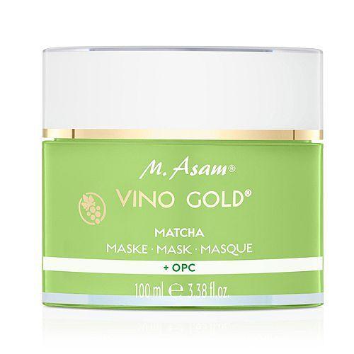 M.ASAM® Vino Gold® Antioxidantien-Maske mit Matcha & OPC 100ml