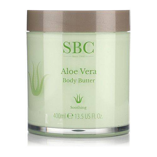 SBC Aloe Vera Körperbutter 400ml