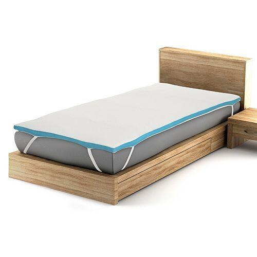 BODYFLEX Memoryschaum Matratzentopper Temperaturausgleich Höhe ca. 4cm
