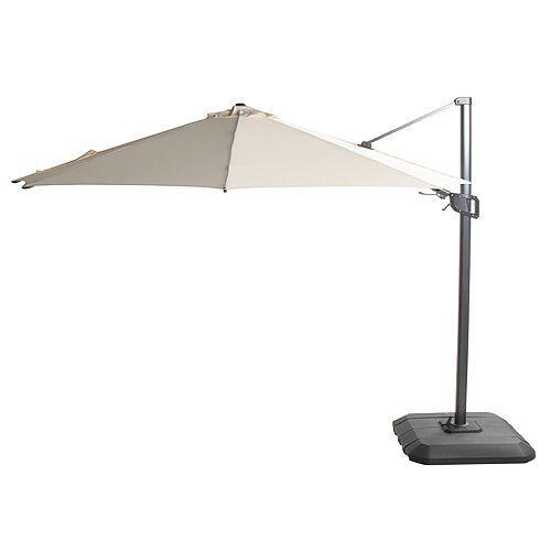 HARTMAN® Ampelschirm 360° UV-Schutz 50+ schwenkbar Ø 300cm