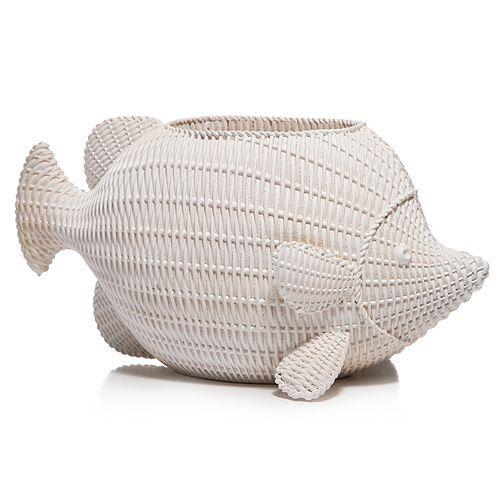 my GARDEN stories Blumentopf Outdoor-Dekofigur Fisch ca. 35x19x18cm