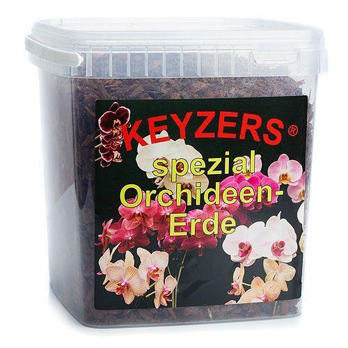 KEYZERS® Spezial Orchideenerde fermentiert 5 Liter