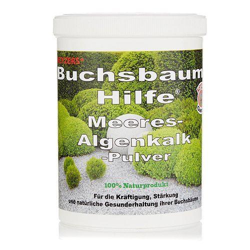 KEYZERS® Buchsbaum-Hilfe® Algenkalkpulver Neue Formel 1kg