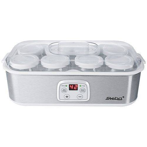 STEBA Joghurtbereiter inkl. Glas Joghurt- becher, mit Deckel 8 Stk. je 180ml JM3