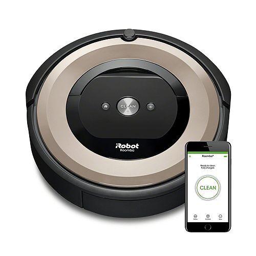 Roomba iROBOT Saugroboter Roomba® e6 Laufzeit ca. 90min für alle Böden Roomba® e6