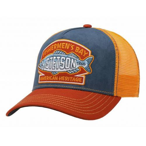 Stetson Trucker Cap Fishermen´s Bay, Orange (28) One Size