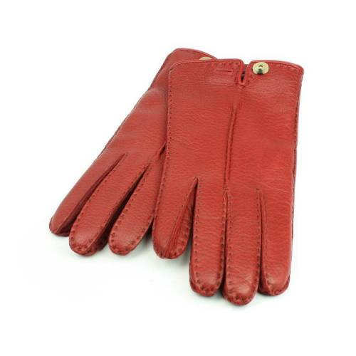 Roeckl Urban Deer Handschuhe für Damen aus Hirschleder, Rot (450) 20,5 cm (7,5)