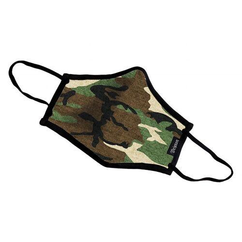 Brixton Mund-Nase-Maske Antimikrobiell, Oliv (CAMO) One Size