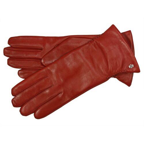 Roeckl Regina Lederhandschuhe für Damen, Rot (445) 20,5 cm (7,5)