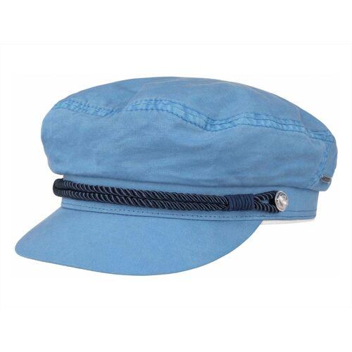Stetson Riders Cap Elbsegler aus Baumwolle, Blau (21) 54-55 cm (S)