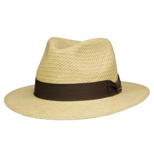 Stetson Traveller Panama Strohhut, Natur (72) 60-61 cm (XL)