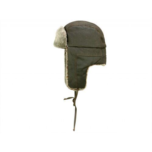 Stetson Palo Fake Fur Fliegermütze Chapka mit Kunstfell, Braun (6) 54-55 cm (S)