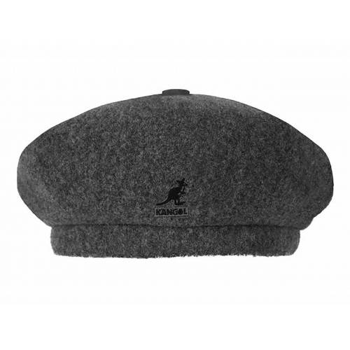 Kangol Wool Jax Beret Baskenmütze, Grau (FL034) 56-57 cm (M)