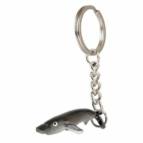 Monkimau Delfin Schlüsselanhänger aus Leder