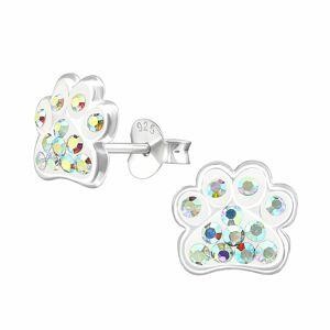 Monkimau Pfoten Ohrringe aus 925 Silber