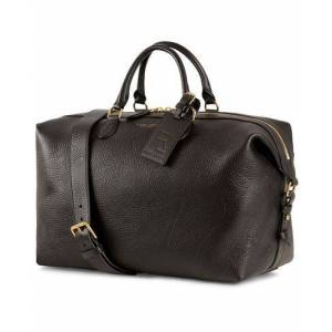 Ralph Lauren Purple Label Duffle Bag Black Grain Calf