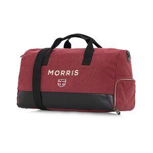 Morris Miller Canvas Weekendbag Bordeaux/Black