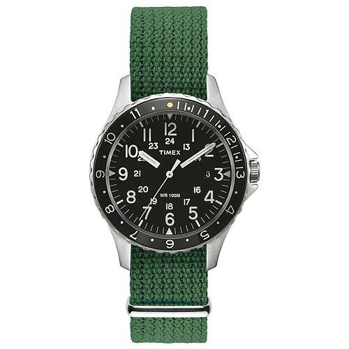 Timex Navi Ocean Steel/Black Dial