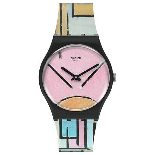 Swatch MoMA Piet Mondrian