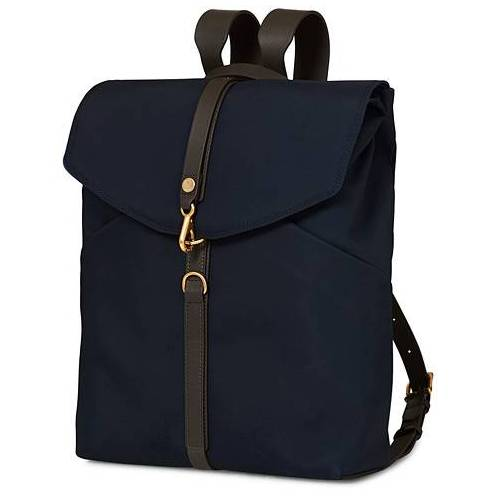 Mismo M/S Rucksack Navy/Dark Brown