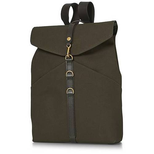 Mismo M/S Rucksack Army/Dark Brown