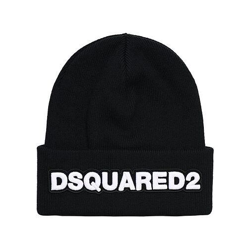 Dsquared2 Logo Beanie Black
