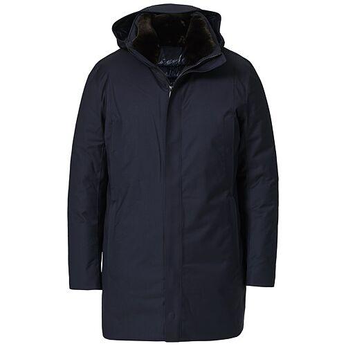 UBR Redox Parka Savile X Dark Navy Wool