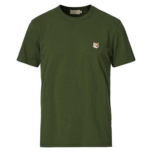 Maison Kitsuné Fox Head Tee Dark Green