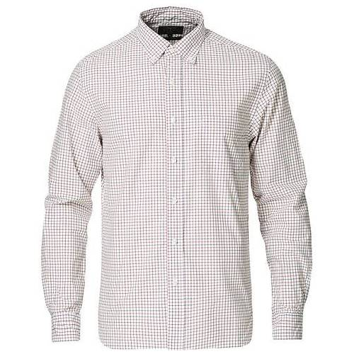 BEAMS PLUS Tattersall Button Down Shirt Off White