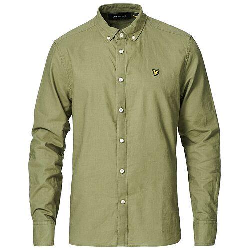 Scott Lyle & Scott Linen/Cotton Shirt Moss