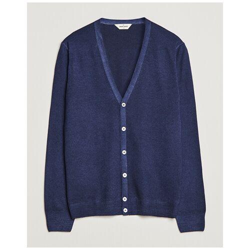 Gran Sasso Vintage Merino Fashion Fit Cardigan Navy