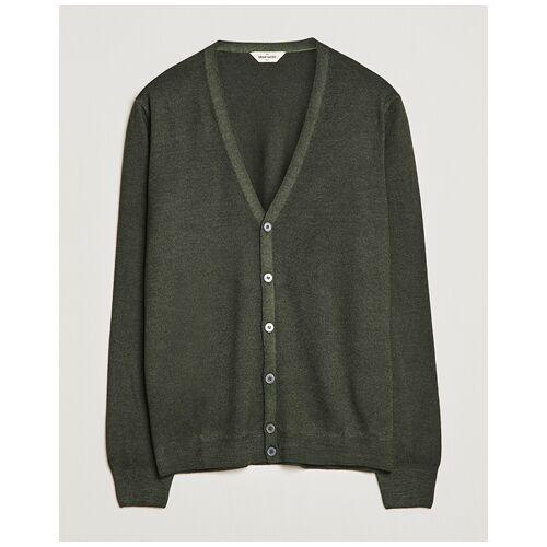 Gran Sasso Vintage Merino Fashion Fit Cardigan Green